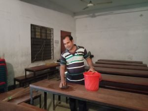 শার্শায় নিজামপুর মাধ্যমিক বিদ্যালয় থেকে তোলা ছবি